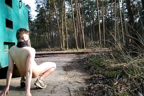 My naked Walk outdoors Part 1 Of 3
