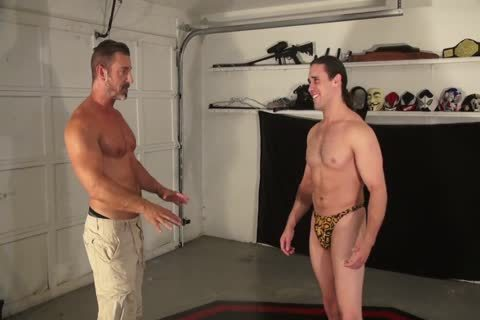 fine Daddy Dominates A lengthy-haired Younger guy
