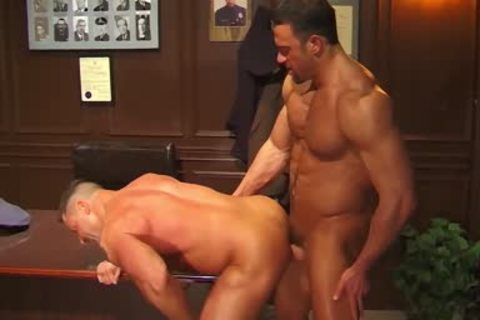 Jim Slade gets plowed Muscle Penitentiary