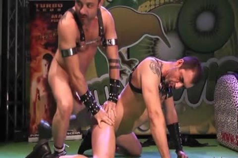 homo Pornstars pounding On Stage At FEDA 2014