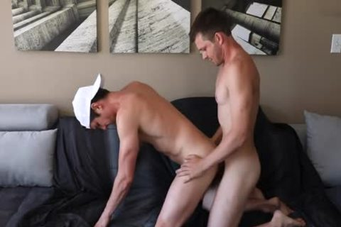 Husbands bunch-sex It Out On The sofa