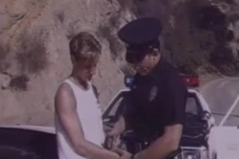 teen Arrested By Cop & Hard poked.