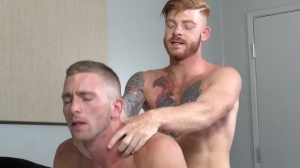 Straight dude's hoe - Bennett Anthony, Scott Riley pooper Hump