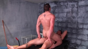 stripped neighbour - Sebastian young and Jake Wilder pooper Nail