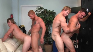 Swingers - Cameron Foster with Bennett Anthony ass Nail