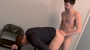 Scrum - Colby Jansen with Woody Fox pooper Hump