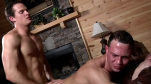 Aaron's First Time - Aaron Anderson and Liam Rosso ass Hump