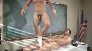 Hazing Bust - Rocco Reed with Joey Cooper ass Hook up