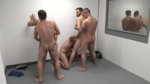 The Line Up - Landon Conrad, Trevor Knight anal bone