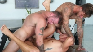 Game On - Brian Michaels and Aston Springs anal Hump