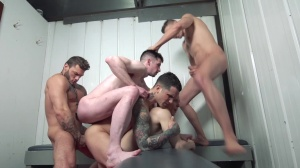 Snap! - Pierre Fitch & Jordan Fox ass Love