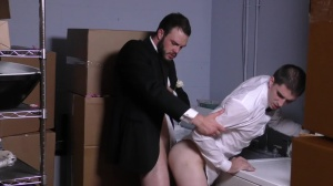 Runaway Groom - Cliff Jensen and Damien Kyle butthole Nail