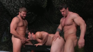 tour Of Duty - Zeb Atlas & Colby Jansen anal nail