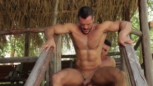 men In Ibiza - Paddy O'Brian & Denis Vega ass job