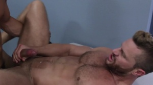 Gaywatch - Landon Conrad with Topher Di Maggio butthole bang