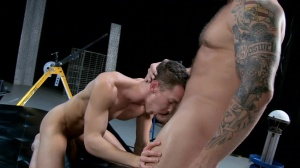 The Gaytrix - Colby Jansen and Darius Ferdynand ass nail