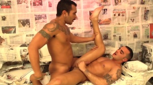 chase The Light - Lucio Saints with Adrian Toledo anal bang