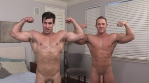Chase & Randy: unprotected - butthole Scene