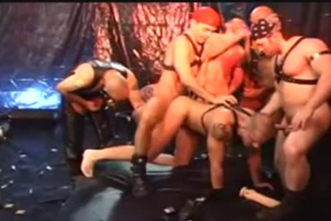 A LEATHER group