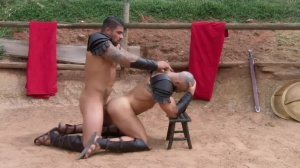 Sacred band Of Thebes - Francois Sagat & Ryan bangs anal Hump