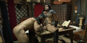 Sacred gang Of Thebes - Diego Sans anal Hook up