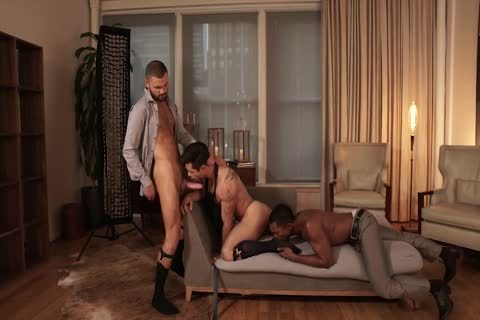 two Monstercocks And 1 horny Bottom