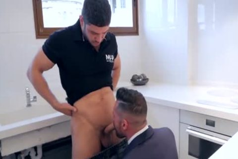 get His booty banged By Plumber