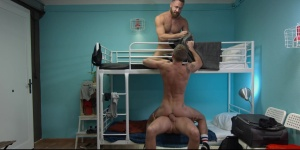 Hostel Takeover - Damon Heart with Logan Moore anal nail