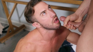 Projecting 10-Pounder - Johnny Rapid & Grant Ryan ass Hump
