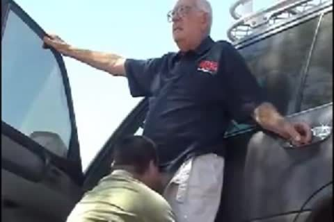 Oldman Getting Blowjobs From His boy Compilation