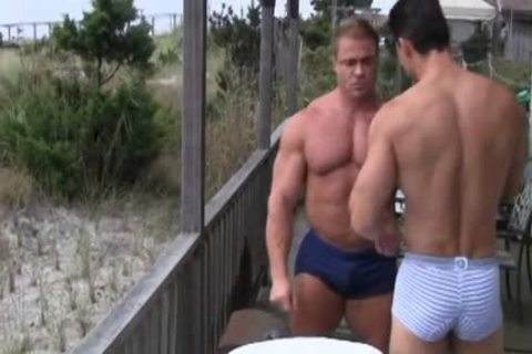 Robert Van Damme bonks Skye Woods - Muscle nailing