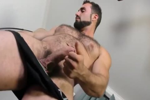 Jaxton Wheeler jerking off Is hairy jock