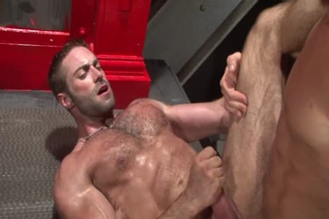 Muscle Love - Trenton Ducati And Jake Genesis