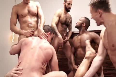 The Lucas dudes bunch, group-sex, And plow (1)