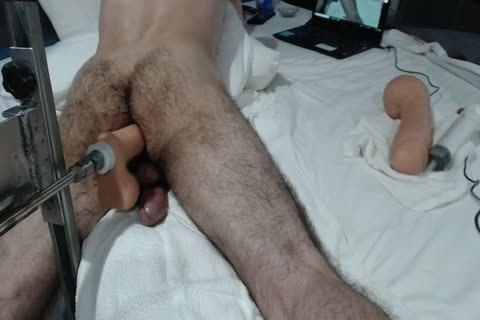 13+ CREAMY pooper ORGASMS+ monstrous SHOOTING LOAD WITH plow MACHINE