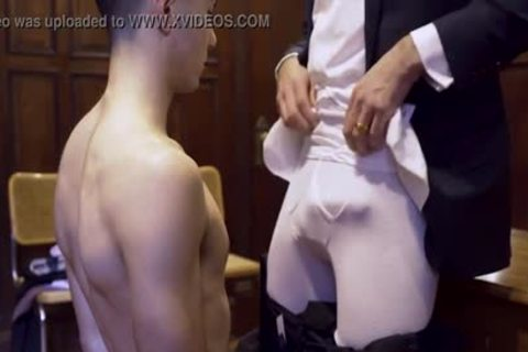 MormonBoyz - Ripped Missionary lad Permeates A Powerful Priests slutty ass
