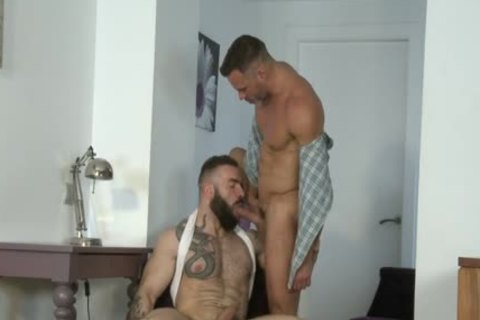 Manuel Skye & Max Hiltom pounding Each Other bare