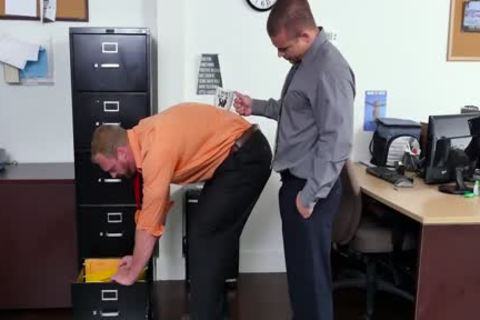 GRAB arse - recent Employee acquires Broken In By The Boss, Adam Bryant
