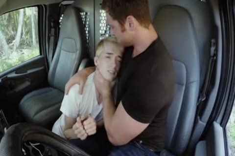 blond lad Needs A Ride