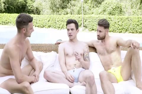 raw POOLSIDE 3some