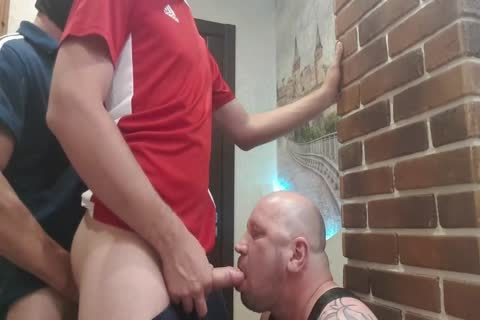 two taskmaster From The Doorway Hard fuck face hole And raw