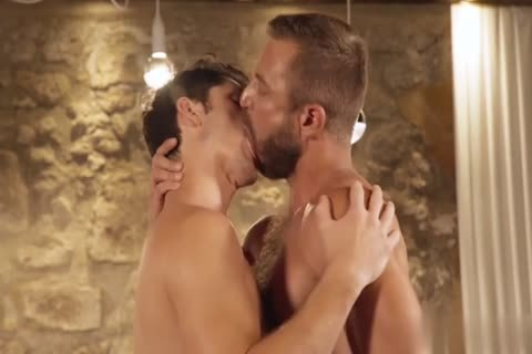 GayRoom - Dylan Knight poked By A Plunger And Peter Fields gigantic penis