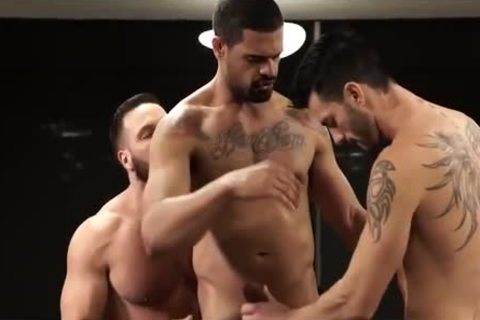 FRANK TYRON-large penis FOR DONATO & ANDY-MACHO man 4