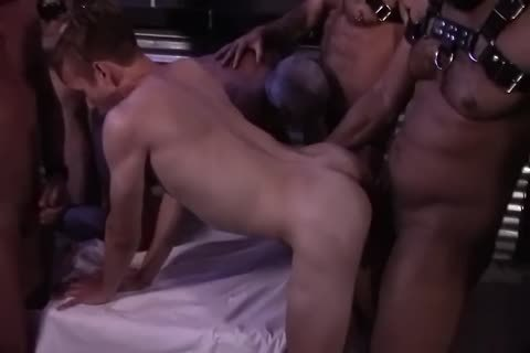 StepFather & Son fuckfest group-sex
