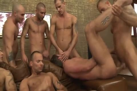 Toby Dutch acquires plowed In A Seven-dude bareback group poke