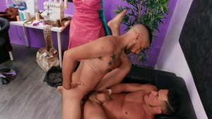 The Bulge Tailor - Ricky Daniels, Cesar Xes anal Nail