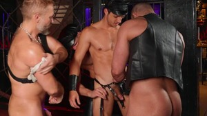 Tom Of Finland: Leather Bar Initiation - Dirk Caber with Kurtis Wolfe American Sex