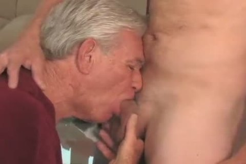 sexy grand-dad engulfing & Getting poked By Younger boy