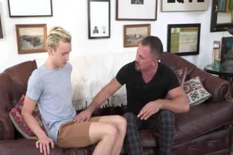 Creepy neighbor Cums Inside A blond lad