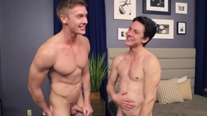 SeanCody - Cole next to Jax bareback gets ass licked